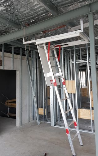 Fold Down Ladder