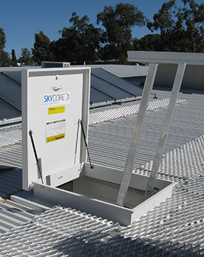 SKYDORE Roof Access Hatch  Hinged
