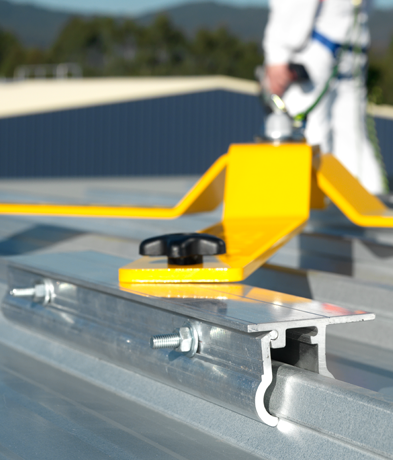 SPYDA TEMPORARY ANCHOR POINT with CLIPLOCK CLAMPS