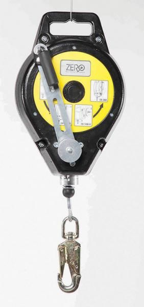 ZERO RETRACTABLE RESCUE WINCHINERTIA REEL 25M