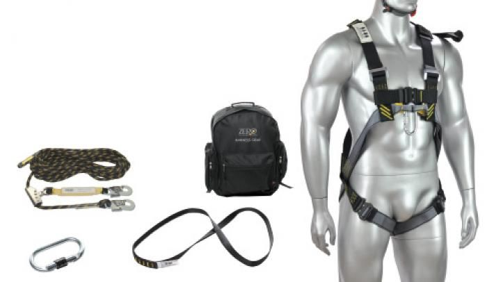 ZERO Roofers harnes safety kit