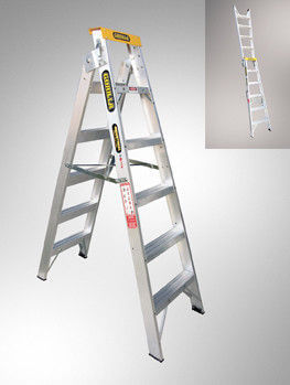 GORILLA  DUAL PURPOSE DOUBLE SIDED LADDER 150KG INDUSTRIAL