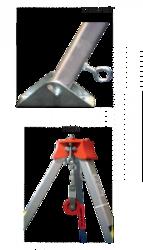 ZERO Aluminum Safety tripod